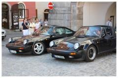 Sraz Porsche Český Krumlov - červen 2012